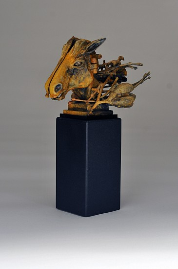 Ted Gall, A Sculptors Story 2015, Bronze