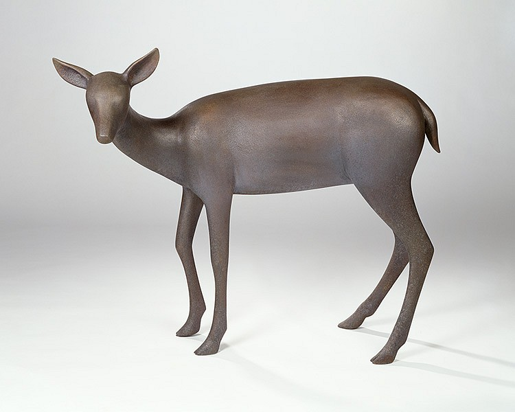 Gwynn Murrill, Deer 6 Bronze