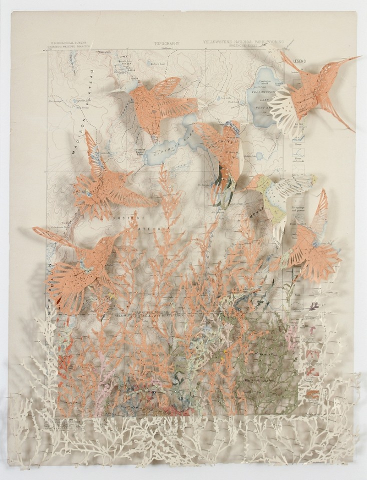 Claire Brewster, Burning Bright 2016, Geological Atlas of the United States, Yellowstone National Park