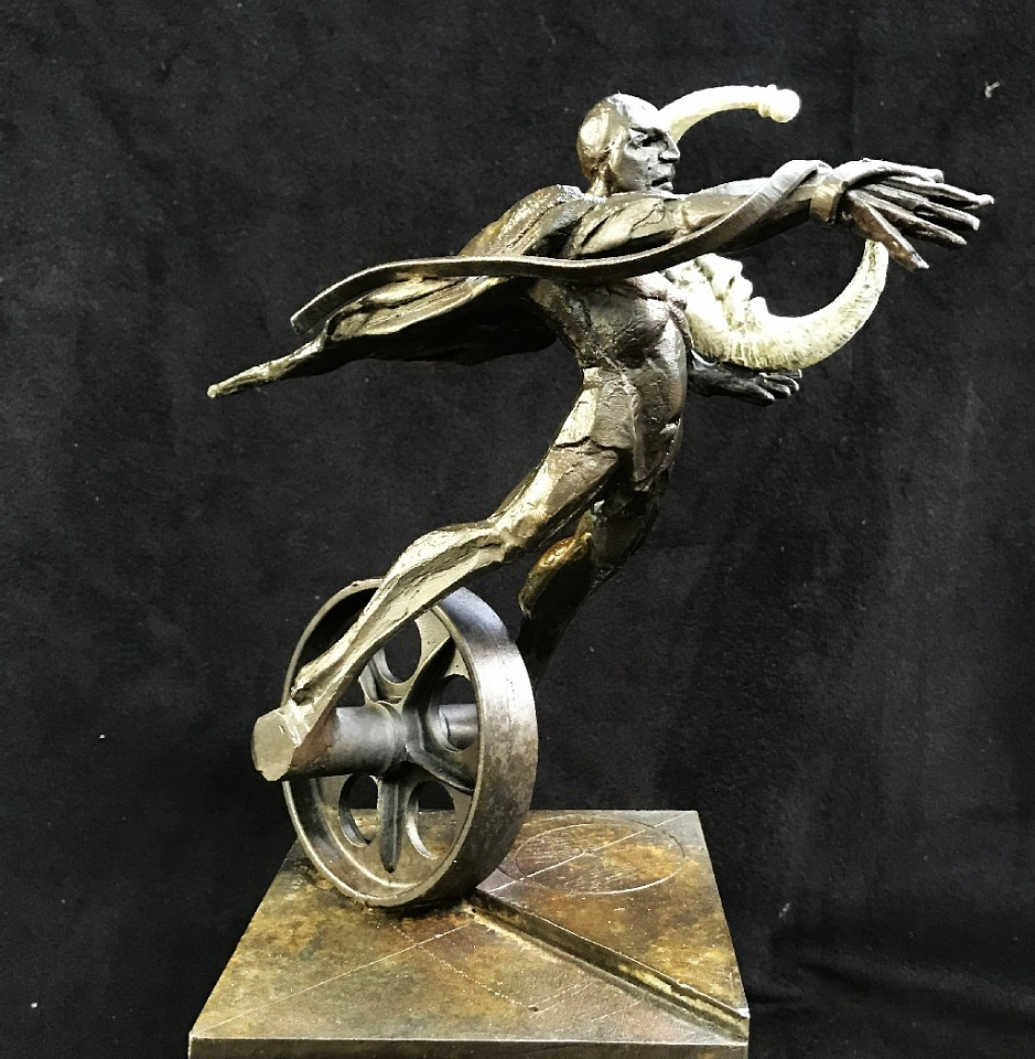 Ted Gall, Stealing Away the Moon 2017, Bronze