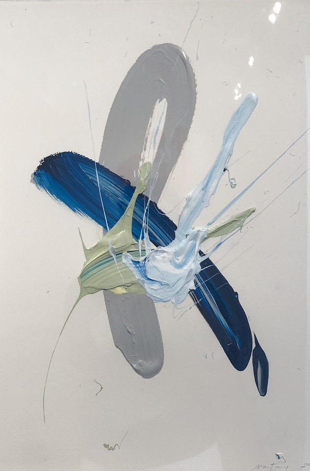Donald Martiny, Unittled Polymer and Pigment on Paper